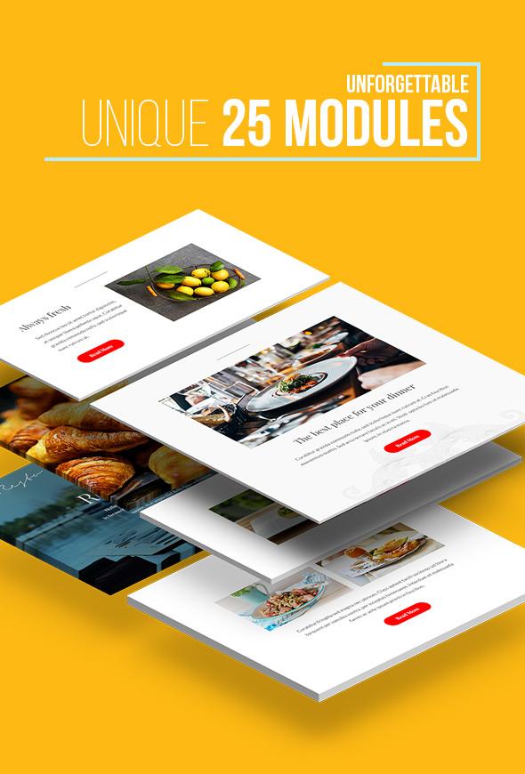 Unique modules